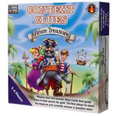 Context Clues Pirate Treasure Blue. Covers the following aspects of Bloom's Taxonomy: Knowledge, Comprehension, Application, Analysis, Synthesis. $15.69