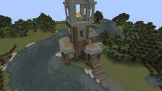 simple minecraft watch tower