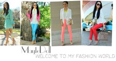 Maytedoll Blog- This girl gives fashionable ideas at an affordable price.