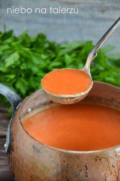Zupa z papryki i pomidorów - niebo na talerzu