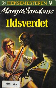 """Ildsverdet"" av Margit Sandemo Fantasy Romance, Nostalgia, Reading, Books, Movies, Movie Posters, Libros, Films, Book"