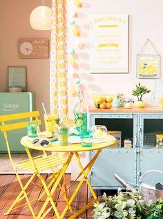 Tendance déco Mint and Lemon   Maisons du Monde