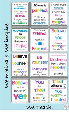 Motivational posters can impact the classroom climate. Grab these inspirational posters that promote kindness and growth mindset. Perfect for a bulletin board or hallway display. Growth Mindset Classroom, Growth Mindset Activities, Growth Mindset Posters, Classroom Motivational Posters, Classroom Quotes, Inspirational Posters, Motivational Cards, Classroom Posters, Kumon