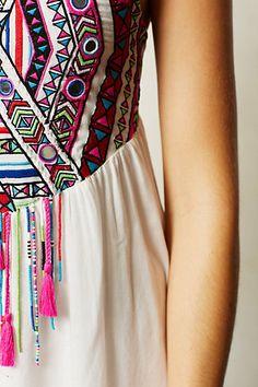 Anthro Mahina Maxi Dress