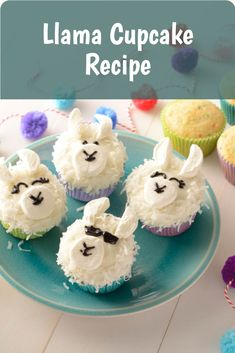 Confetti Cupcakes, Easter Cupcakes, Cute Cupcakes, Baking Cupcakes, Cupcake Recipes, Cupcake Cakes, Dessert Recipes, Dinner Recipes, Just Cakes