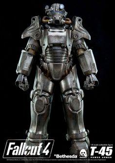 Fallout 4 figurine 1/6 Power Armor ThreeZero