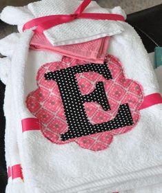 towel gift set with heat & bond @simplesimon&co