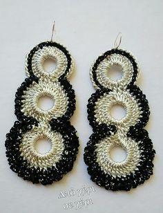 #από_χέρι_σε_χέρι #πλεκτό_κόσμημα #Κλεοπάτρα_Χρήστου #πλεκτο #κοσμημα #σκουλαρίκια #χειροποιητακοσμηματα #χειροποιητο #γυναικα #μοδα #δωρο #τεχνη #αξεσουαρ #crochetjewellery #woman #handmade #crochet #fashion #accessories #style #art #gift #girl #love #colorful #wearit #Greece #jewel #crochetearrings #lookoftheday Crochet Baby, Crochet Projects, Crochet Earrings, Crochet Patterns, Jewelry, Fashion, Earrings Handmade, Diy Kid Jewelry, Earrings