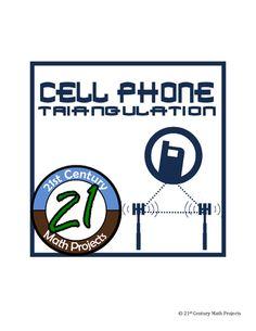 cell phone triangulation law of sines cosines fbi