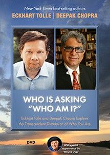 """<p>Filmed in Carlsbad, California, at the Chopra Center's """"Seduction of Spirit"""" retreat on April 23, 2013, this inspiring video captures the historic evening that master teachers <strong>Eckhart Tolle</strong> and <strong>Deepak Chopra</strong> share the stage for the very first time. Over the course of two hours, they cover such profound topics as the five kleshas at the root of our suffering, the immutability of the present moment, and how we are all timeless beings into which time is…"""