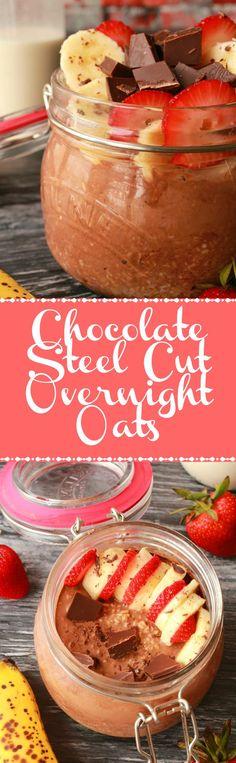 Best Breakfast Vegan On The Go Overnight Oatmeal 62 Ideas Nutritious Breakfast, Vegan Breakfast Recipes, Delicious Vegan Recipes, Vegan Snacks, Vegan Desserts, Brunch Recipes, Sweet Recipes, Yummy Food, Vegan Food