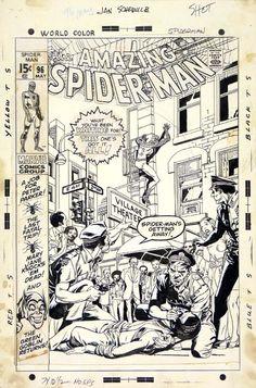 The Amazing Spider-Man n. 96 foi o primeiro gibi de super-heróis a ser publicado sem o selo de aprovação do CCA, chegou às bancas americanas em 9/2/1971, 45 anos atrás. É a primeira parte de três do retorno do Duende Verde, que tem o uso de drogas como um dos elementos da trama. O gibi é de Stan Lee e #GilKane, arte-finalizado por Frank Giacoia. Kane e Giacoia assinam a capa.
