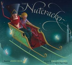 In this retelling of the original 1816 German story, Godfather Drosselmeier gives young Marie a nutcracker for Christmas, and she finds herself in a magical realm where she saves a boy from an evil curse.