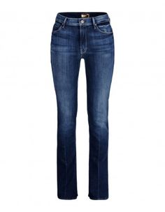 Mother Insider Bootcut High-waisted 5-Pocket Jeans