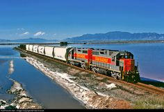 RailPictures.Net Photo: 2007 Utah Railway Company EMD GP38 at Little Mountian, Utah by Fred Krause