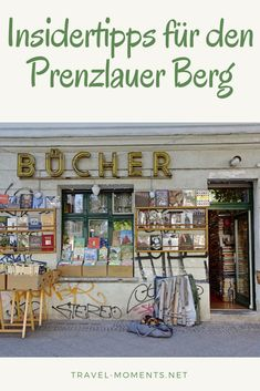 Insider tips for Berlin Prenzlauer Berg - - Berlin Food, Berlin City, Berlin Wall, Berlin Germany, Prenzlauer Berg Berlin, Learn German, Munich, Berlin Travel, Planner Organization
