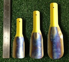 Lightest Cathole Trowels On The Planet - I want the original size (it is the smallest). Confession:I have yet to dig a proper cathole with a rock, stick, or hiking pole. Love Note and Burly Whites on the CDT had a cat hole digging competition. This little .3 ounce wonder outperformed the heavier and bigger U Shovel.  $29.00