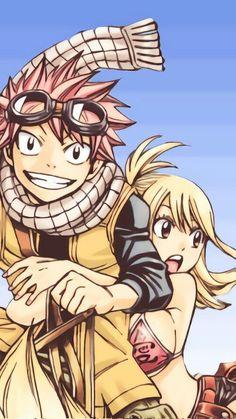 Natsu & Lucy Fairy Tail NALU