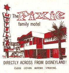 Pixie Motel, Anaheim, California