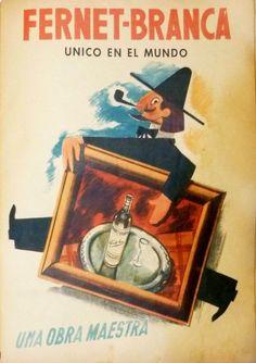 Antigua Publicidad Fernet Branca
