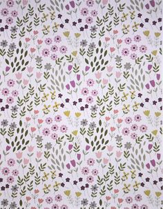 Lewis & Irene. Bunny Garden. Pretty flowers on Pink - Choose your cut.  Price starts at $4 for a 1/3 yd and goes up to $10.99 for a full yard. We hope to make the fabric cuts available helpful to the seamstresses who shop with us! CHOOSE YOUR size of fabric. Note: When ordering in excess of three yards, please send me a convo so that I can set up a custom listing. Otherwise, Etsy will overcharge you on shipping.  This fabric is 44/45 inches wide.  Shipping time: within 3 busines...