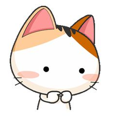 Gojill The Meow Animated Gif Kawaii, Kawaii Cat, Cartoon Gifs, Cute Cartoon Wallpapers, Cute Bear Drawings, Cat Icon, Cartoons Love, Cute Cat Gif, Cute Chibi