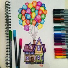 imaginé ser parte del grupo BTS. 7 chicos 1 chica  - historia escrita… #detodo # De Todo # amreading # books # wattpad Disney Kunst, Disney Art, Disney Ideas, Disney Pixar, Amazing Drawings, Amazing Art, Pretty Easy Drawings, Art Drawings Sketches, Tumblr Drawings Easy