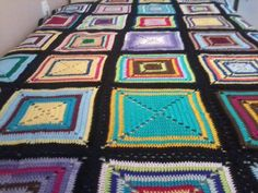 Ravelry: fitsa's Κουβέρτα Ravelry, Blanket, Crochet, Projects, Home, Log Projects, House, Crochet Crop Top, Rug