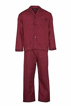 f48ac58bf4 Mens Woven Pyjama Set Nightwear Pyjama Summer Wear (Small