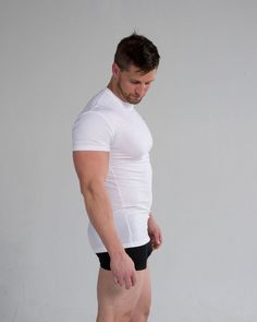 94ce010ae82 An ideal undershirt should be made of a natural fiber like cotton to ensure  that it does not irritate your skin and that it wicks sweat away from your  skin ...