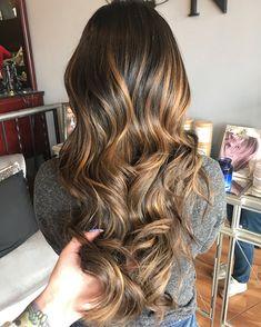 Caramel Balayage, hairstyles