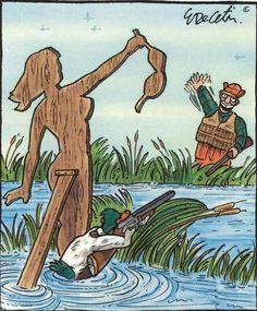 If ducks hunted humans   funny pictures