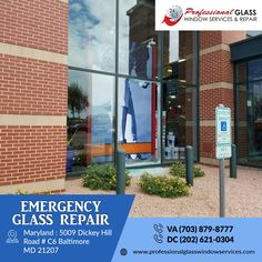 Professional Glass Window Services and Repair provides fast and affordable price emergency glass repair and replacement services for your home and office in Virginia, Maryland, and Washington DC area. For more information visit us at Professional Glass Window Services and Repair  #EmergencyGlassRepair #DCEmergencyGlassRepair #MDEmergencyGlassRepair #VAEmergencyGlassRepair #WindowglassRepair #glassrepair #glassreplacement #CommercialGlassRepair #PatioDoorGlassRepair #Washington #DC Window Glass Repair, Washington Dc Area, Glass Replacement, Patio Doors, Maryland, Virginia, Windows, Window