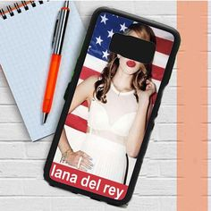 Lana Del Rey Usa Flag Samsung Galaxy S8 Plus Case Dewantary