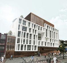 Segundo Lugar en concurso público de anteproyectos para la alcaldía local de Teusaquillo / Colombia