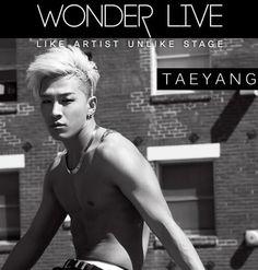 Taeyang 'Wonder Live' Event