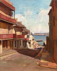 Sydney Long (Australian Artist - 1871-1955)