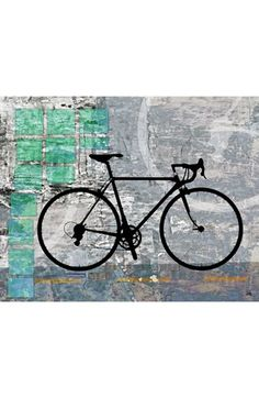 Green Leaf Art 'Sport Bicycle' Wall Art available at #Nordstrom