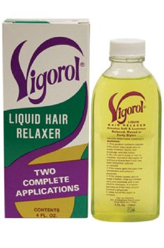 Vigorol Liquid Hair Relaxer Gentle Enough For All Hair Types Relaxes and deeply conditions tangled, uncontrollable hair moisture and humidity resistant. Natural To Relaxed Hair, Natural Hair Styles, Liquid Hair, Relaxer, Moisturize Hair, Beauty Supply, Hair Type, Hair Growth, Moisturizer