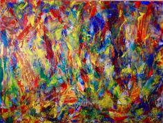 "Saatchi Art Artist Nestor Toro; Painting, ""Endless Threads (Golden)"" #art"