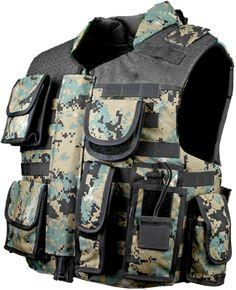 U.S. Armor | Narco Jacket (Front) | Custom Fit Body Armor | You'll Wear It! | www.usarmor.com