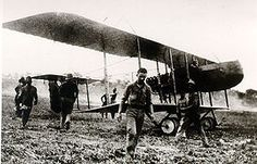 The Farman F.40 was a French pusher biplane reconnaissance aircraft used during the first World War.