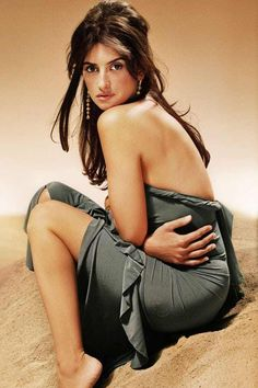 eee0b0e1456 Penelope Cruz in Satin Ruffle is listed (or ranked) 13 on the list Hottest