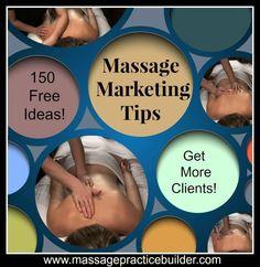 Massage marketing tips