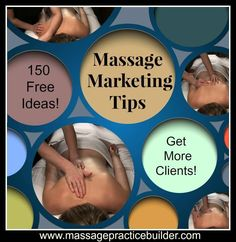 Over 150 massage marketing tips - but you only really need 5 to build a solid foundation for your massage business! Find out more and build your ideal massage business
