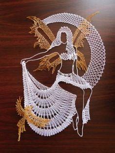 Irish Crochet, Crochet Motif, Bobbin Lacemaking, Nail String Art, Lace Art, Bobbin Lace Patterns, String Art Patterns, Thread Art, Point Lace