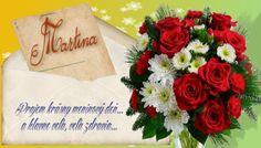 Martina  Prajem krásny meninový deň... a hlavne veľa, veľa zdravia...