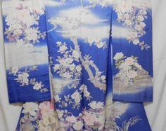 Japanese Kimono Furisode fabric Tsujigahana