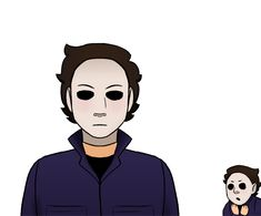 Michael with a 🅱️ Horror Film, Horror Movies, Michael Myers Drawing, Jake Park, Michael X, Art Reference Poses, Serial Killers, Dumb And Dumber, Random Things