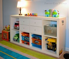 Pretty City Things Big Boy Room Reveal Toy Storage 2